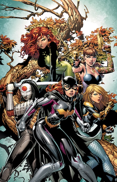 Birds of Prey Banner and with Review