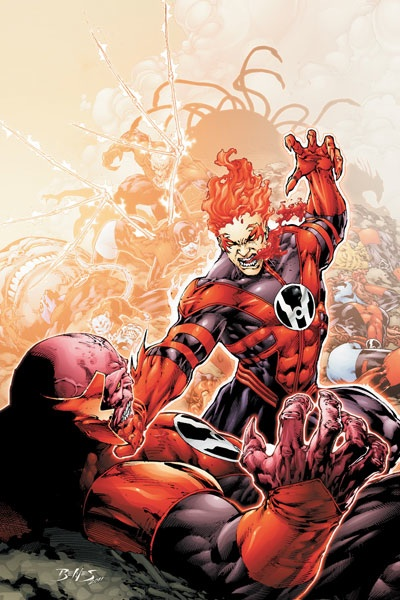 Red Lantern with Review