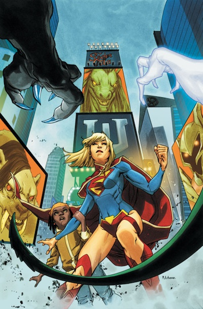 Supergirl with Review