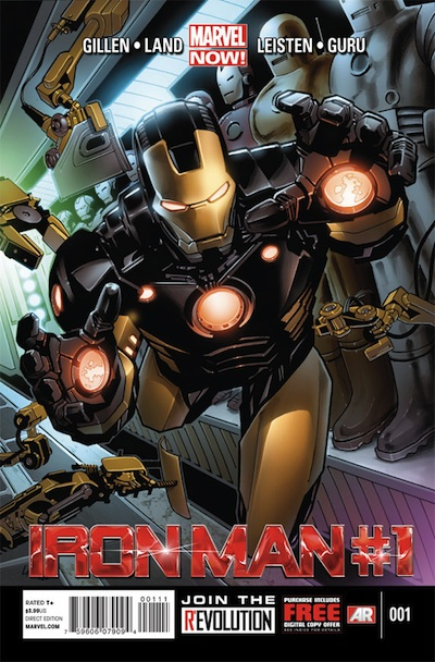 Iron Man 1 Marvel Now