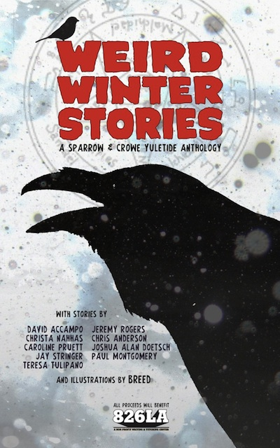 Weird Winter Stories Cover