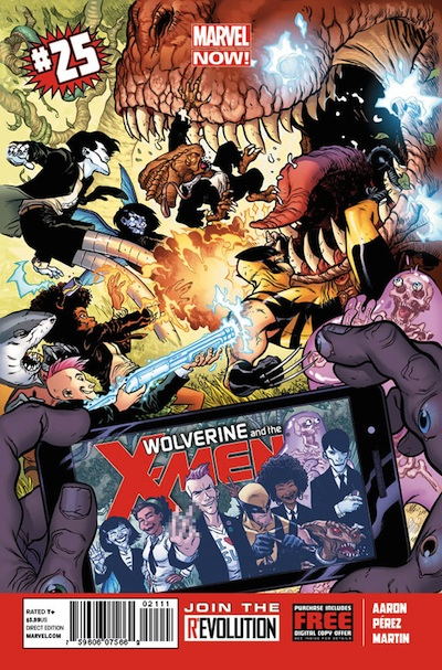 Wolverine and the X-Men MNOW 25