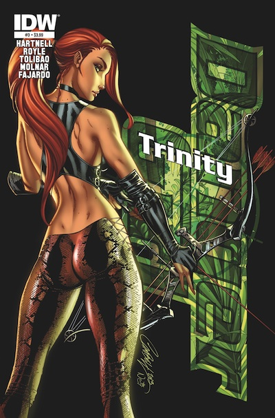 Danger Girl Trinity 3