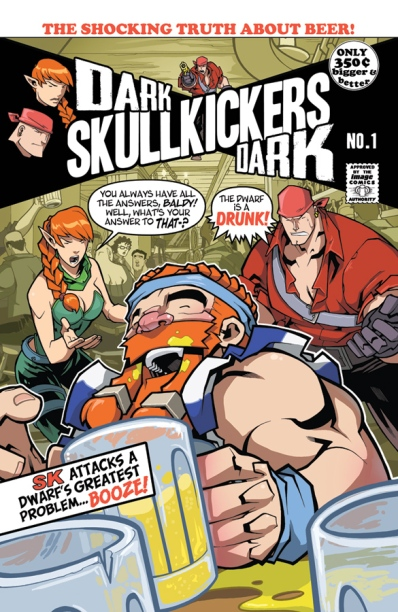 Dark Skullkickers Dark 1