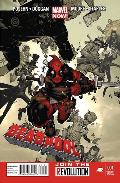 Deadpool Marvel NOW 1