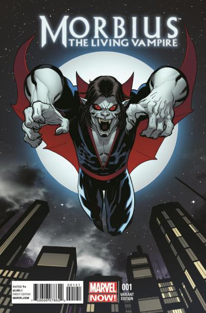 Morbius the Living Vampire 1 Marvel NOW