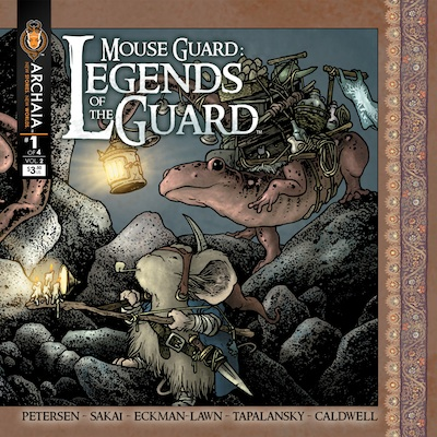 Mouse Guard Legends of the Guard v2 1