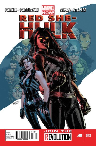 Red She-Hulk 58