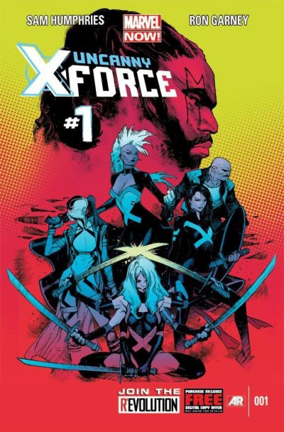 Uncanny Xforce  Marvel NOW