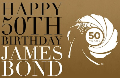 50th Bond Birthday