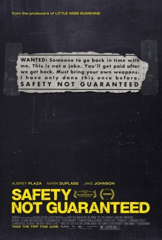 Safety Not Guaranteed ET