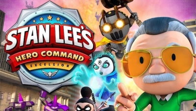 F84 Games Unveils New Character and Game Trailer for 'Stan Lee's Hero Command'