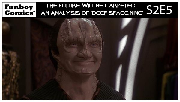 The Future Will Be Carpeted: An Analysis of 'Deep Space Nine (S2E5)'