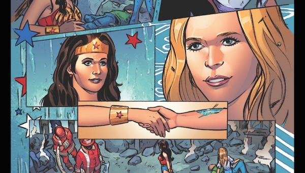 Wonder Woman Wednesday: 'Wonder Woman '77 Meets Bionic Woman' Review and Interview with Series Writer Andy Mangels