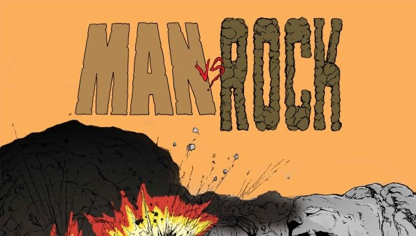 'Man vs. Rock: Volume 1' – Comic Book Review (Have You Got the Stones?)