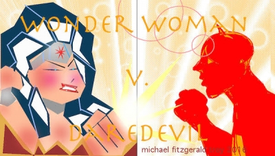 Wonder Woman Wednesday: 'Wonder Woman vs. Daredevil' Interview with Christos and Ruth Fletcher Gage