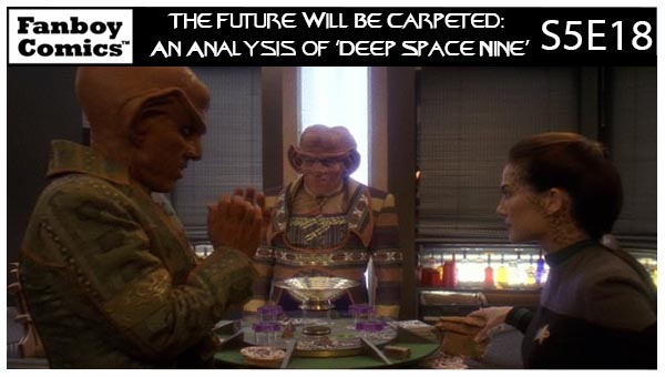 The Future Will Be Carpeted: An Analysis of 'Deep Space Nine (S5E18)'