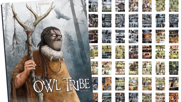 'The Owl Tribe: Book 1' - Graphic Novel Review