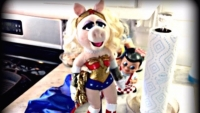 Wonder Woman Wednesday: Wonder Pig Returns!