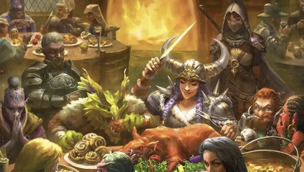 'Heroes' Feast: The Official D&D Cookbook' - Book Review