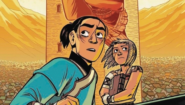 'The Stone Heart (The Nameless City #2):' Advance Graphic Novel Review
