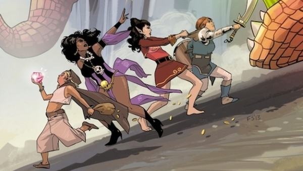 The 'PREVIEWS' Party Podcast Interviews Kurtis Wiebe, Co-Creator of 'Rat Queens'