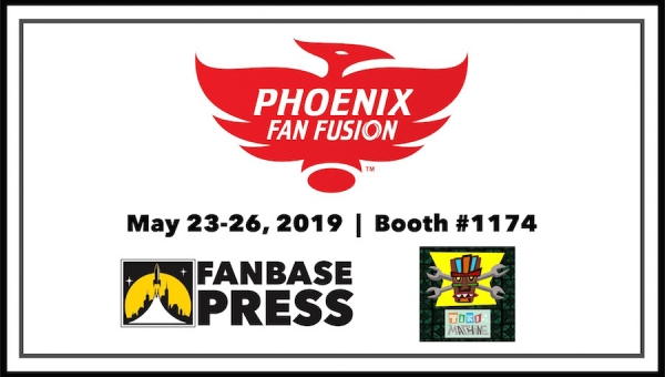 Join Fanbase Press, Tiki Machine, and Talented Indie Creators for Phoenix Fan Fusion 2019