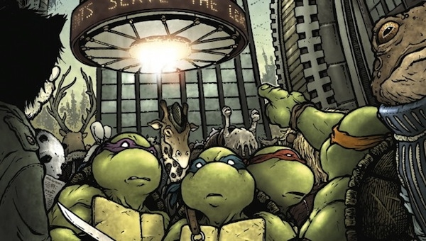 'TMNT: Turtles in Time #4' - Comic Book Review