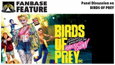 Fanbase Feature: Panel Discussion on 'Birds of Prey and the Fantabulous Emancipation of One Harley Quinn' (2020)