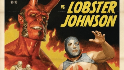 'Hellboy vs. Lobster Johnson in The Ring of Death:' Comic Book Review