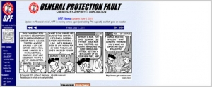 World of Webcomics: 'General Protection Fault'