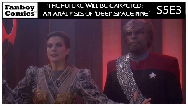 The Future Will Be Carpeted: An Analysis of 'Deep Space Nine (S5E3)'