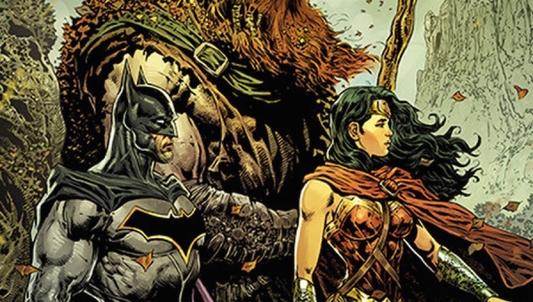 Wonder Woman Wednesday: Liam Sharp to the Rescue!