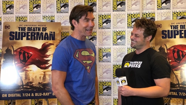 SDCC 2018: Fanbase Press Interviews Jerry O'Connell on the Man of Steel and 'The Death of Superman'