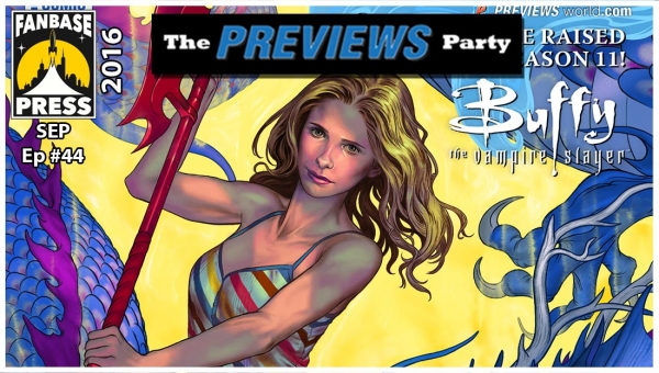 Ep. #044 The 'PREVIEWS' Party Podcast
