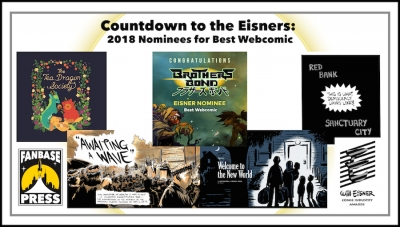 Countdown to the Eisners: 2018 Nominees for Best Webcomic