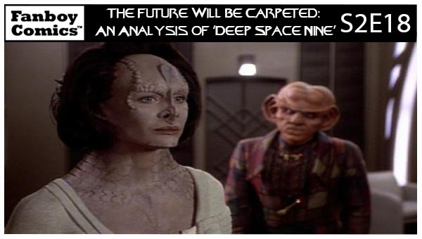 The Future Will Be Carpeted: An Analysis of 'Deep Space Nine (S2E18)'