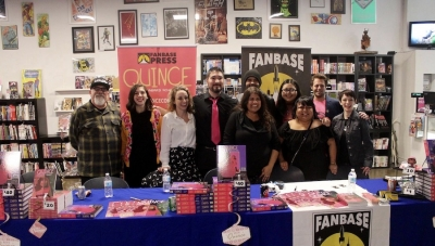 'Quince: The Definitive Bilingual Edition' Release Party: Fans Celebrate Fanbase Press' Latest Release at Hi De Ho Comics