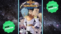 Fanbase Press Interviews Giles Clarke on the Comic Book Series, 'The World of Tomorrow'
