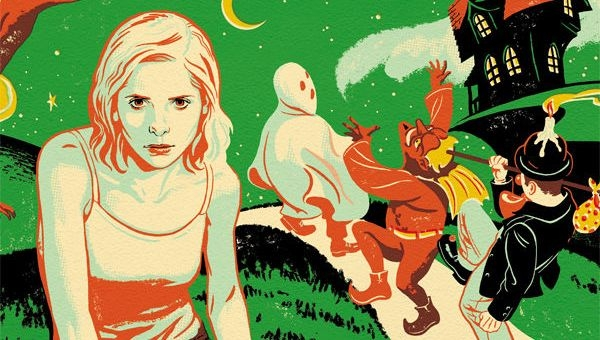 'Buffy the Vampire Slayer: Season 10 #8' Comic Book Review (Halloween in Sunnydale!)