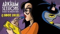 'The Arkham Sessions' Co-Hosts Take on Superheroines, 'Star Wars,' 'Star Trek,' and More at SDCC