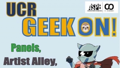 Fanbase Press' Co-Founders to Be Special Guests at Geek-On 2018 at UC Riverside