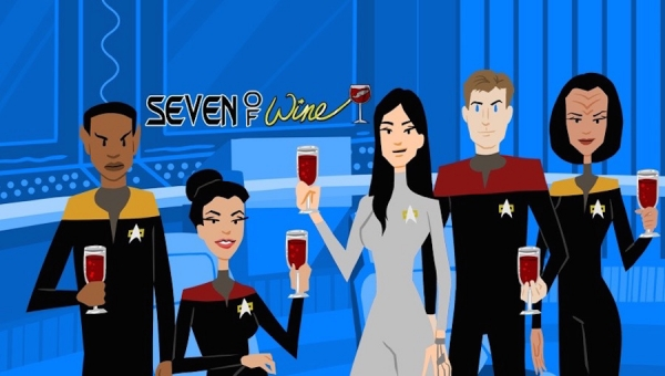 Geekscape's 'Seven of Wine' Pairs 'Star Trek: Voyager' with a Fine Wine for Every Occasion