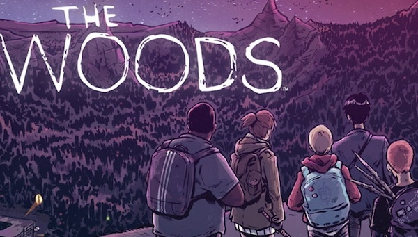 The 'PREVIEWS' Party Podcast Interviews James Tynion IV, Creator of 'The Woods'