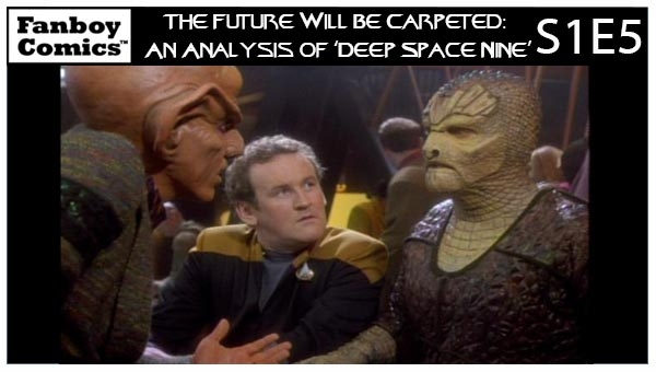 The Future Will Be Carpeted: An Analysis of 'Deep Space Nine (S1E5)'