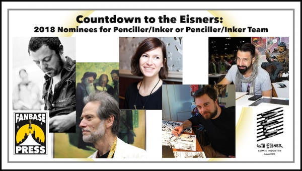 Countdown to the Eisners: 2018 Nominees for Best Penciller/Inker or Penciller/Inker Team