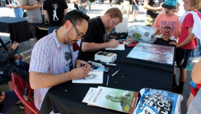 Blastoff ComicsFest 2015: Artists David Flores and Chris Thorne on #FreeComicBookDay
