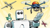 Fanbase Press Interviews Writer Mairghread Scott on 'Science Comics: Robots and Drones'
