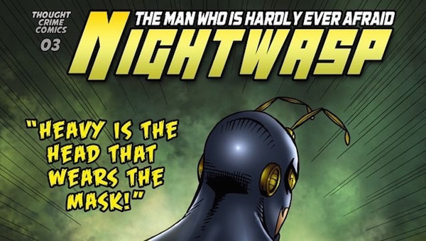 'Nightwasp #3-4:' Comic Book Review
