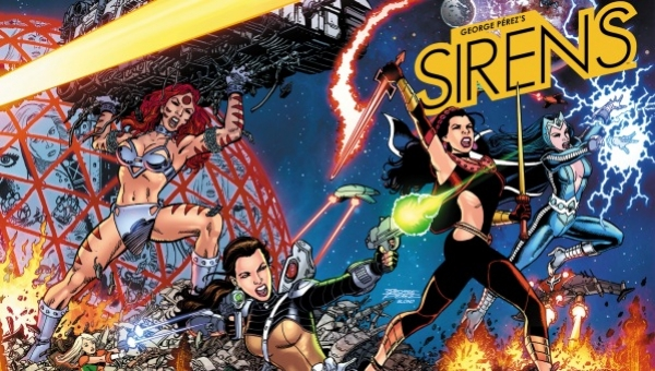 Fanboy Comics Interviews George Perez on 'Sirens' (Part 1)
